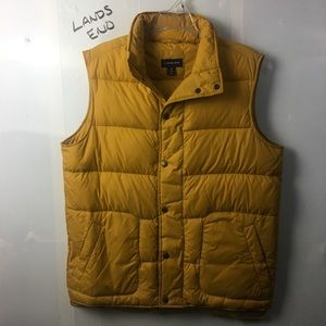 Land's End Puffer Vest Medium